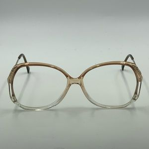 Vintage Aldo Tura Gold Oval Sunglasses Frames